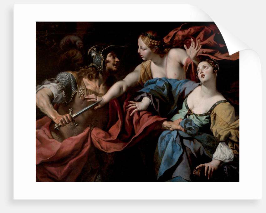 Herod and Mariamne by Luca Ferrari