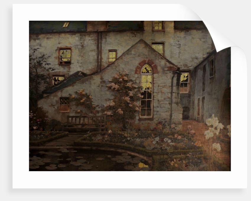 My Garden at Twilight by Charles Oppenheimer