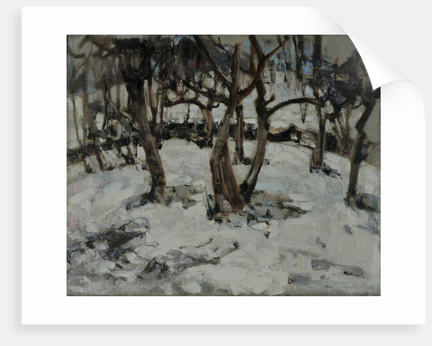 A Winter Wonderland by Edward Atkinson Hornel