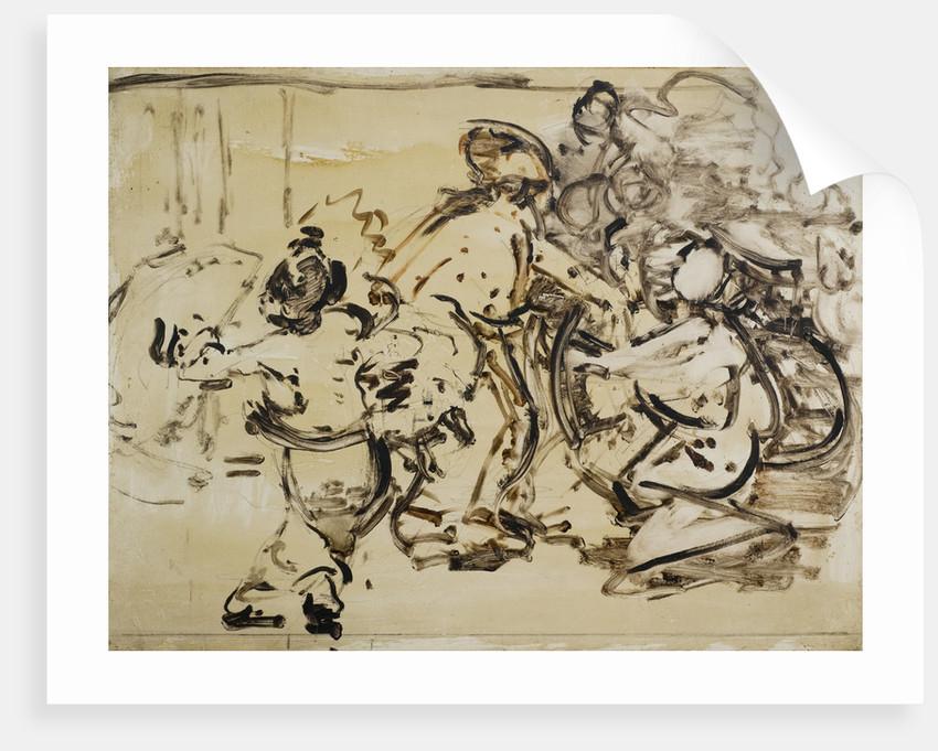 Burmese Dancers by Edward Atkinson Hornel