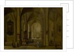 Interior of a church by Pieter Neefs II