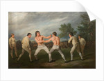 William Warr Defeating William Wood at Navestock in Essex, December 31st 1788 by Richard Ramsay Reinagle