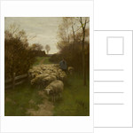The Shepherd with his Flock by William Steelink