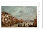 Venetian Fondamenta by Francesco Guardi