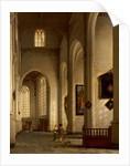 Interior of Church of Saint Bavo, Haarlem, 1654 by Antoine de Lorme