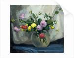 Still Life, Pompom Dahlias by Harry Gordon Shields