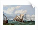 Shipping off Dover by John Wilson Ewbank