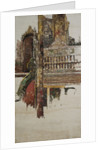 A Balustrade, Mandalay by Edward Atkinson Hornel