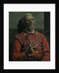 Portrait of a Man in a red Tunic, 1885 by Edward Atkinson Hornel