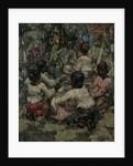 Lace Makers, Ceylon, 1908 by Edward Atkinson Hornel