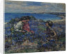 Wild Flax at Brighouse, 1932 by Edward Atkinson Hornel