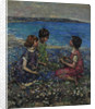 Wild Flax & Burnet Roses, 1932 by Edward Atkinson Hornel