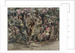 Japanese Dancers, c.1921-25 by Edward Atkinson Hornel