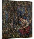 Gathering Mushrooms, 1930 by Edward Atkinson Hornel