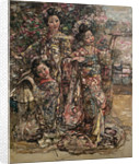 Geisha Girls, c.1921-25 by Edward Atkinson Hornel