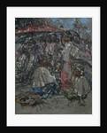 A Burmese Market, c.1922-27 by Edward Atkinson Hornel