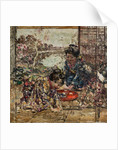 Japanese Girls on a Verandah, c.1921-25 by Edward Atkinson Hornel
