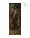 Maiden in Pink Kimono, 1922 by Edward Atkinson Hornel