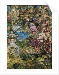 Geisha Girl in Oriental Garden by Edward Atkinson Hornel