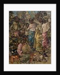 Burmese Musicians and Dancers, c.1922-27 by Edward Atkinson Hornel