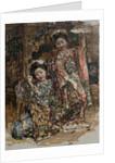 Geisha Girls and Screen, c.1921-25 by Edward Atkinson Hornel