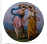Two Figures Dancing by unknown