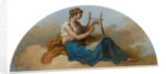 Female Figure with a Lyre by unknown