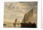A Ferry Boat by Aelbert Cuyp