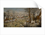 The Bird Trap (Winter Landscape) by Pieter Brueghel the Younger
