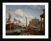 Seaport by Abraham Jansz Storck