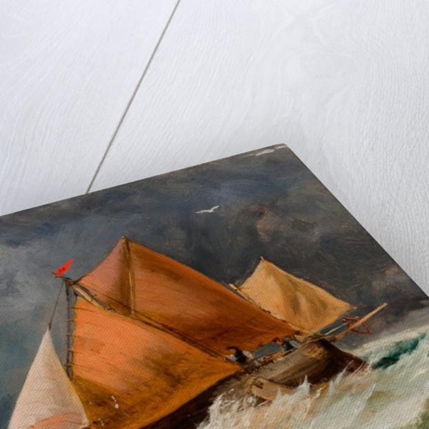Fishing Boats, Brighton by Richard Beavis