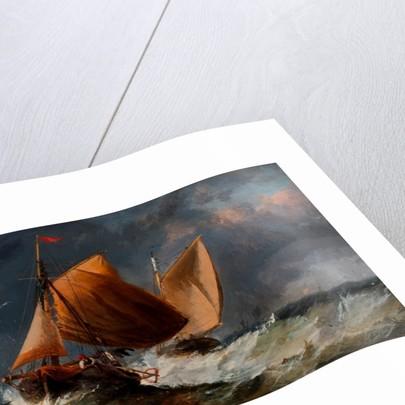 Fishing Craft off the Eddystone by Richard Beavis