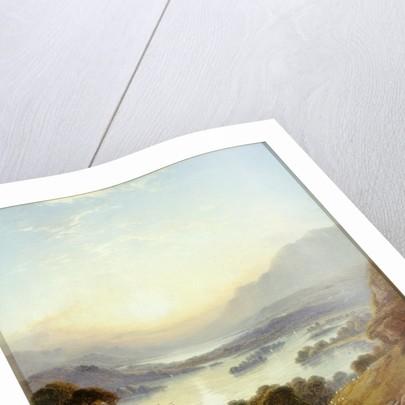 Derwentwater and Bassenthwaite Lakes, Keswick by George Blackie Sticks