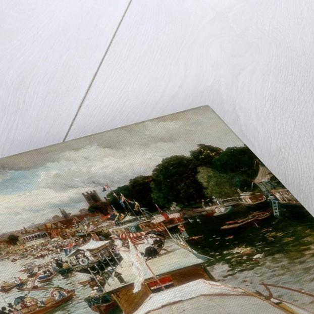 Henley Regatta by Alfred de Bréanski