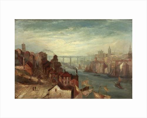 Newcastle upon Tyne from Gateshead by Thomas Liddell