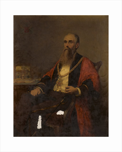Portrait of an Alderman by Thomas Eyre Macklin