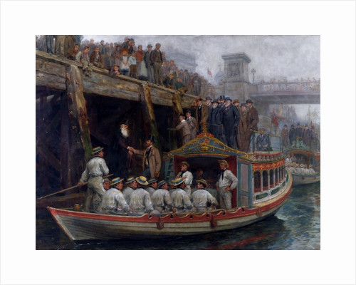 Barge Day by Ralph Hedley