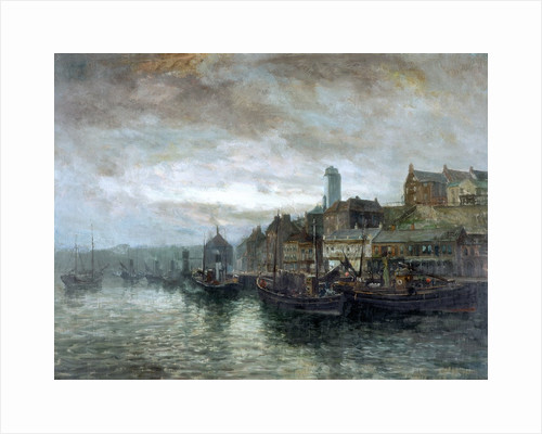 Quayside at North Shields by John Falconar Slater