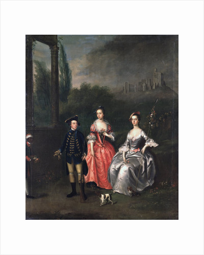 Portrait of Captain Fenwick, his Wife Isabella Orde and her Sister Ann by Thomas Bardwell