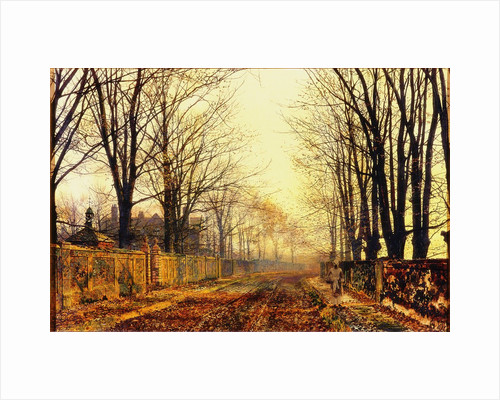 Under the Beeches by John Atkinson Grimshaw