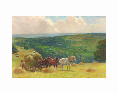 Haymaking by John Atkinson