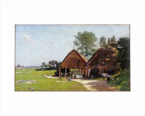 Washing Place, Normandy by John Leslie Thomson