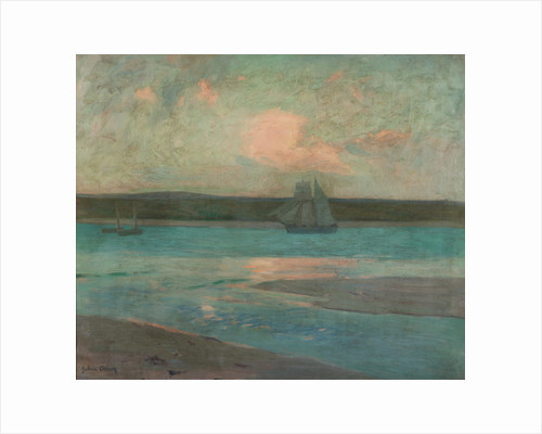 Evening, St Ives by Julius Olsson