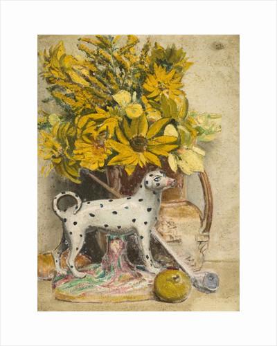 Still Life (Spotted Dog) by John Everett
