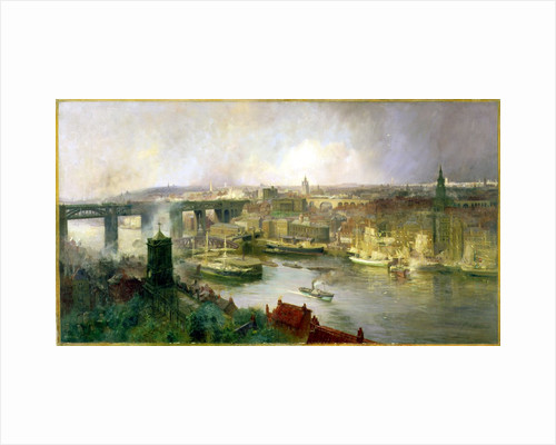 Newcastle upon Tyne from Gateshead by Niels Møller Lund
