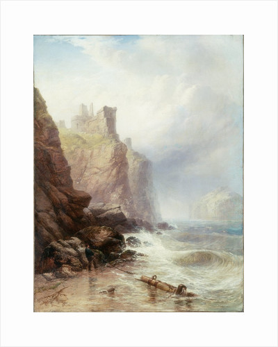Tantallon Castle by George Blackie Sticks