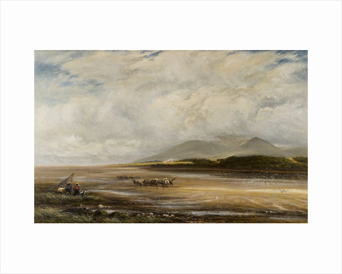 The Solway, Criffel in the distance by James Orrock
