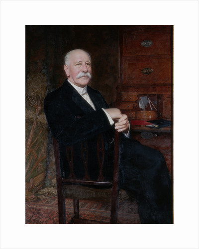 Portrait of Alderman George Bargate Bainbridge J.P. by Thomas Bowman Garvie