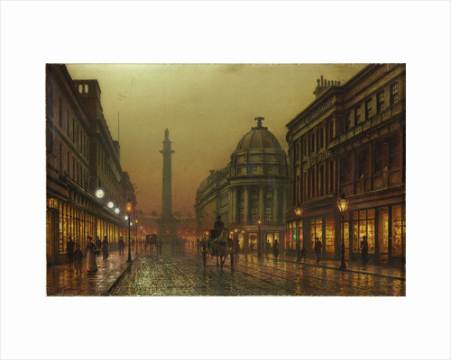 Grainger Street, Newcastle upon Tyne by Louis H. Grimshaw