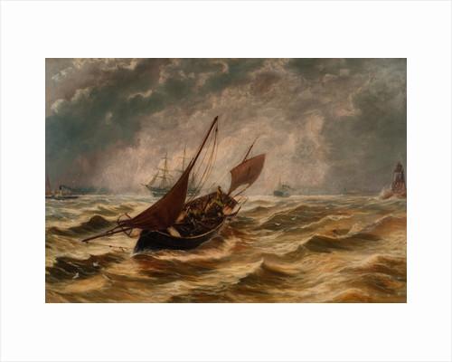 Seascape by Bernard Benedict Hemy